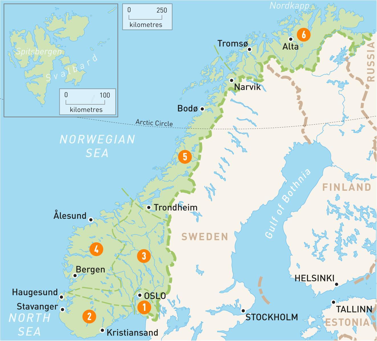 La Norvegia Cartina.Alta Norvegia Mappa Cartina Di Alta Norvegia Europa Del Nord Europa